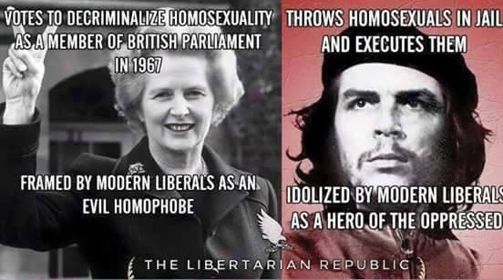 Thatcher and Che