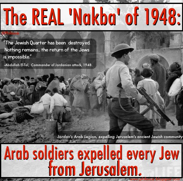 The real Nakba