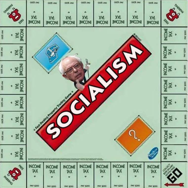 Bernie Sanders socialism monopoly