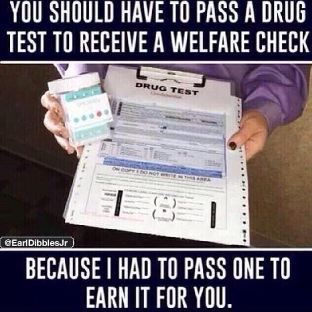 Drug test for welfare