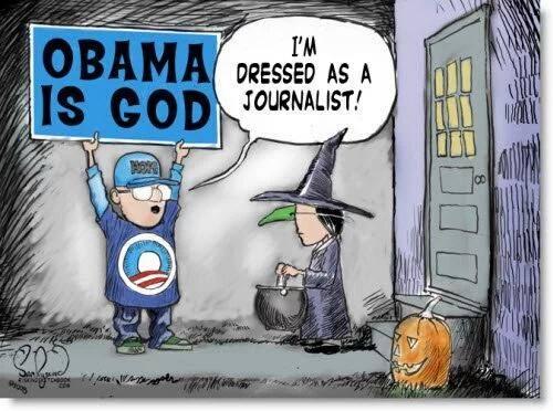 Journalist Obama and God