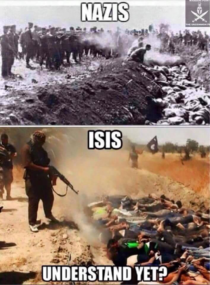 Nazis and ISIS