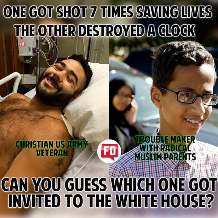 Obama ignores hero lauds clock kid