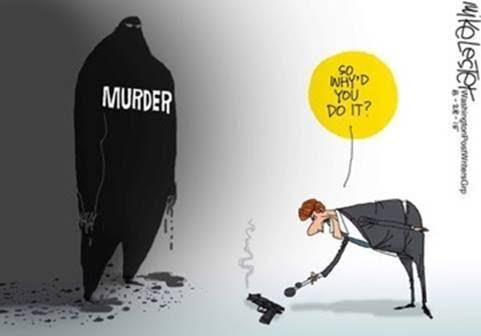 Murder's all about the gun