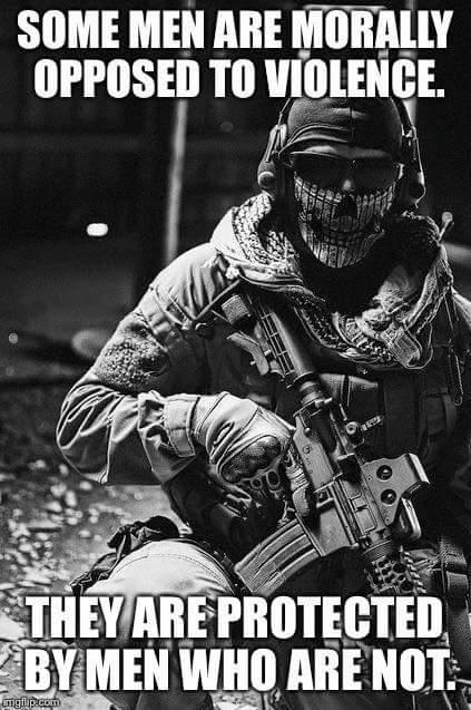 Those who protect us