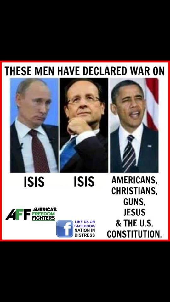 Leaders declare war on