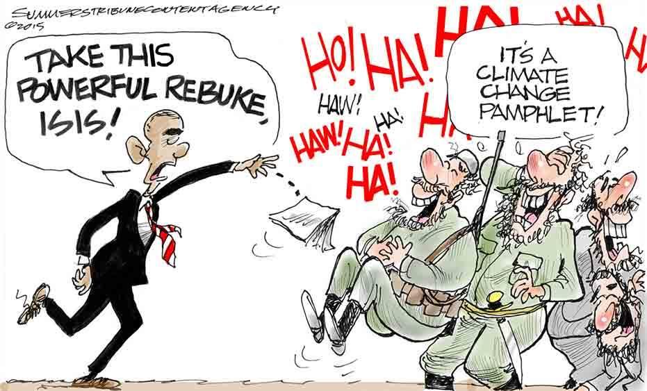 Obama ISIS climate change