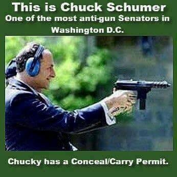 Chuck Schumer carries