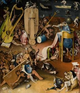 Detail of Heironymous Bosch