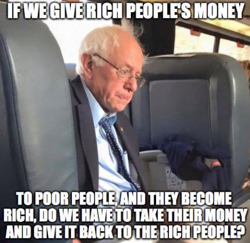 Do Bernie's plans make for money ping pong