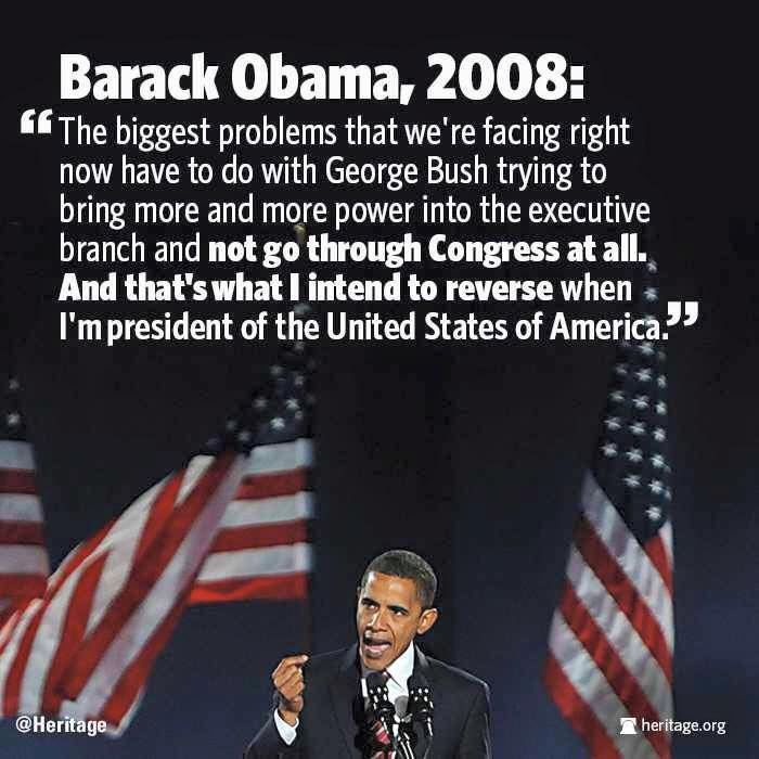 In 2008 Obama opposed executive action