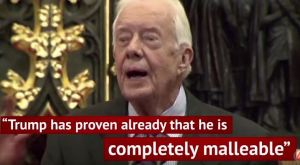 Jimmy Carter endorses Trump