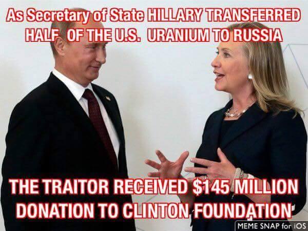 Hillary Putin Russia uranium Clinton Foundation