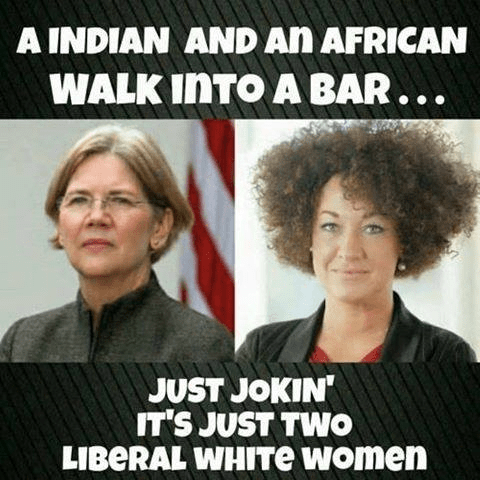 Indian and African liberal white women