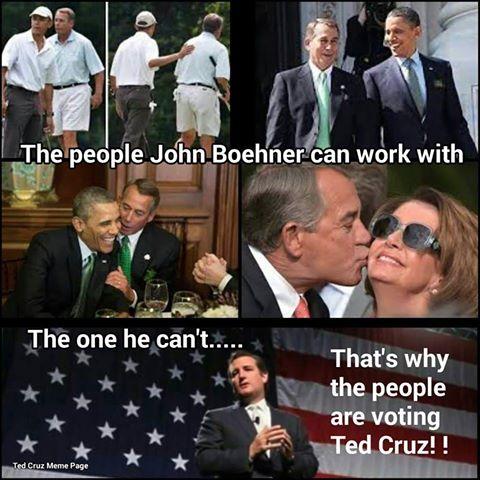 Cruz Boehner loves Lefties