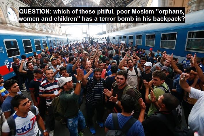 Muslims terrorists