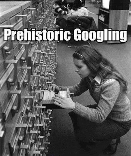 Silly prehistoric Googling