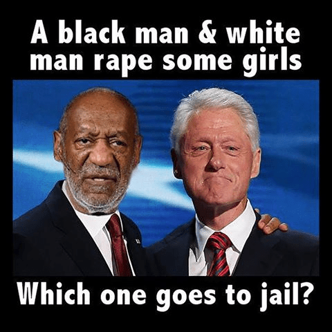 Crime Clinton Cosby rapes