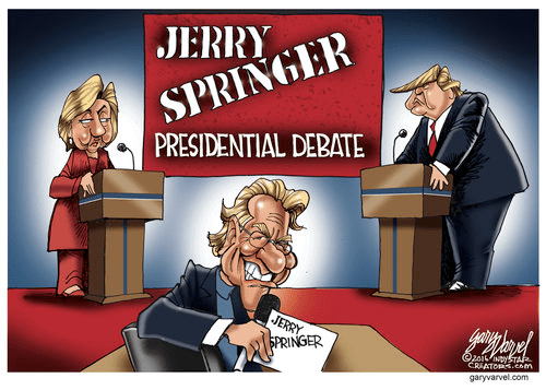 Hillary Trump Election debate