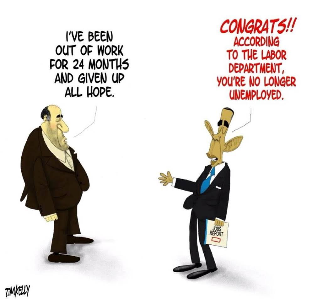 Obama unemployment numbers