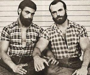 Gay lumberjack image