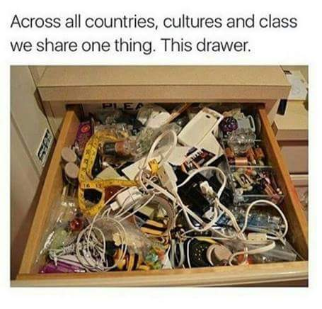 Silly the junk drawer
