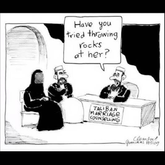 Islam Taliban marriage counselor
