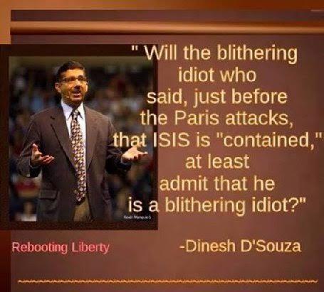 Obama blithering idiot ISIS