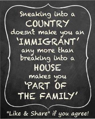 Immigrants sneaking in