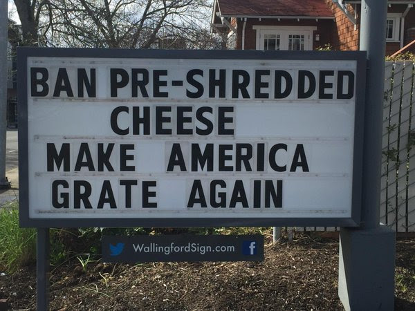 Silly Pre-shredded cheese