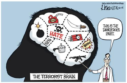 Gun Progressives try to make terrorism about guns