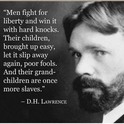 Wisdom DH Lawrence on liberty