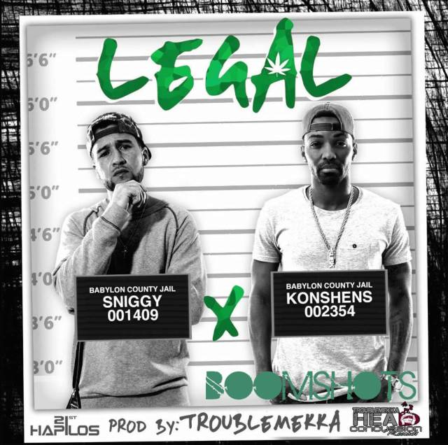"HEAR THIS: Sniggy x Konshens ""Legal"""