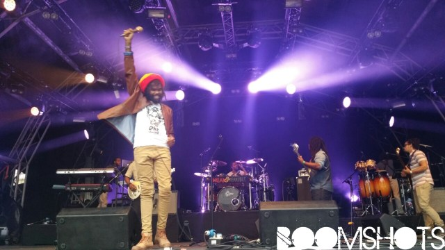 Chronixx & Dre Island Shock Out In Central London