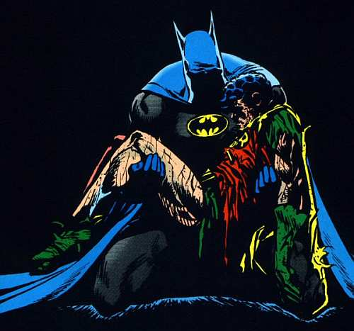 batman robin death in family