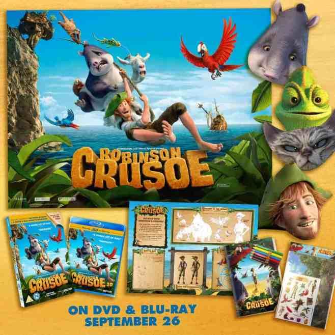 Robinson Crusoe DVD + #Giveaway