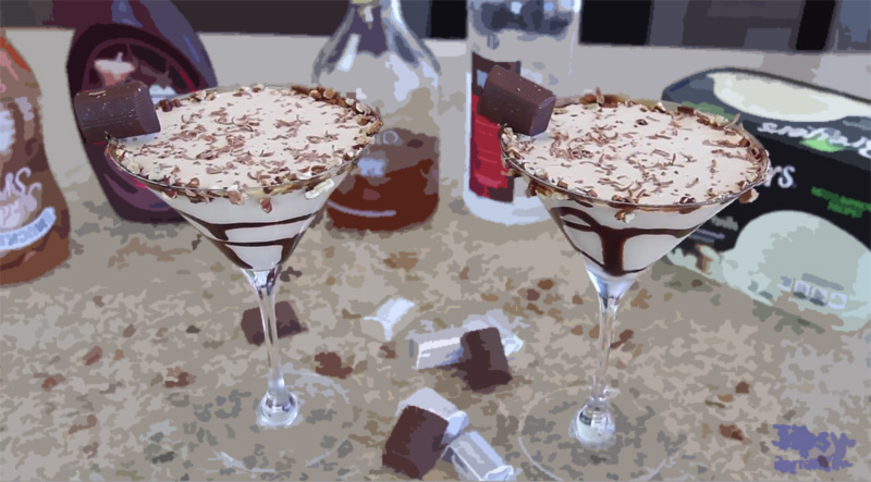 Hershey Nugget Martini is the Perfect Cocktail for a Sweet Tooth