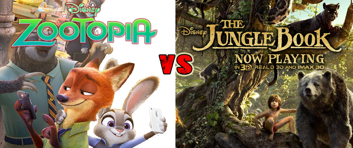 Zootopia vs. The Jungle Book