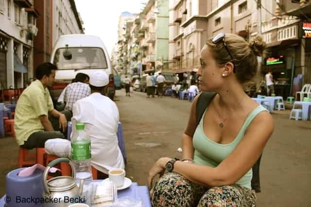 Travelling in Myanmar