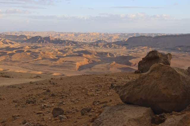 Ramon Crater, Mitzpe Ramon, Negev Desert, Israel