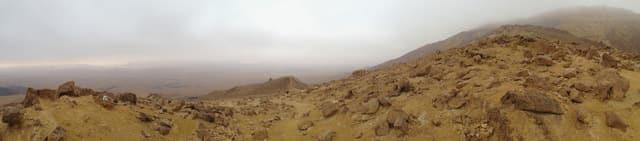 Hiking the Ramon Crater, Mitzpe Ramon, Negev Desert, Israel