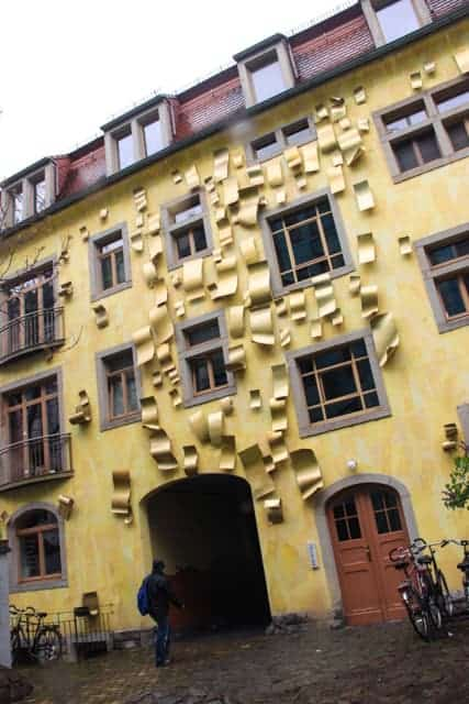 Kunsthofpassage, Dresden New Town, Germany