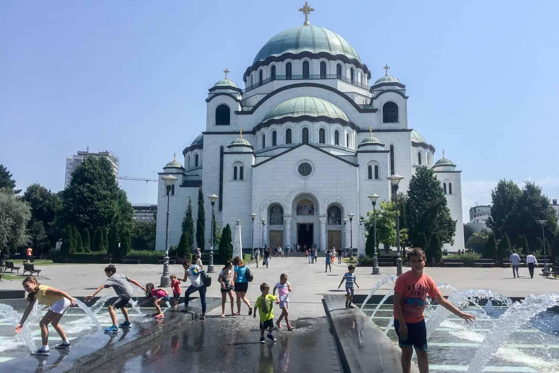 St. Sava Temple, Belgrade, Serbia