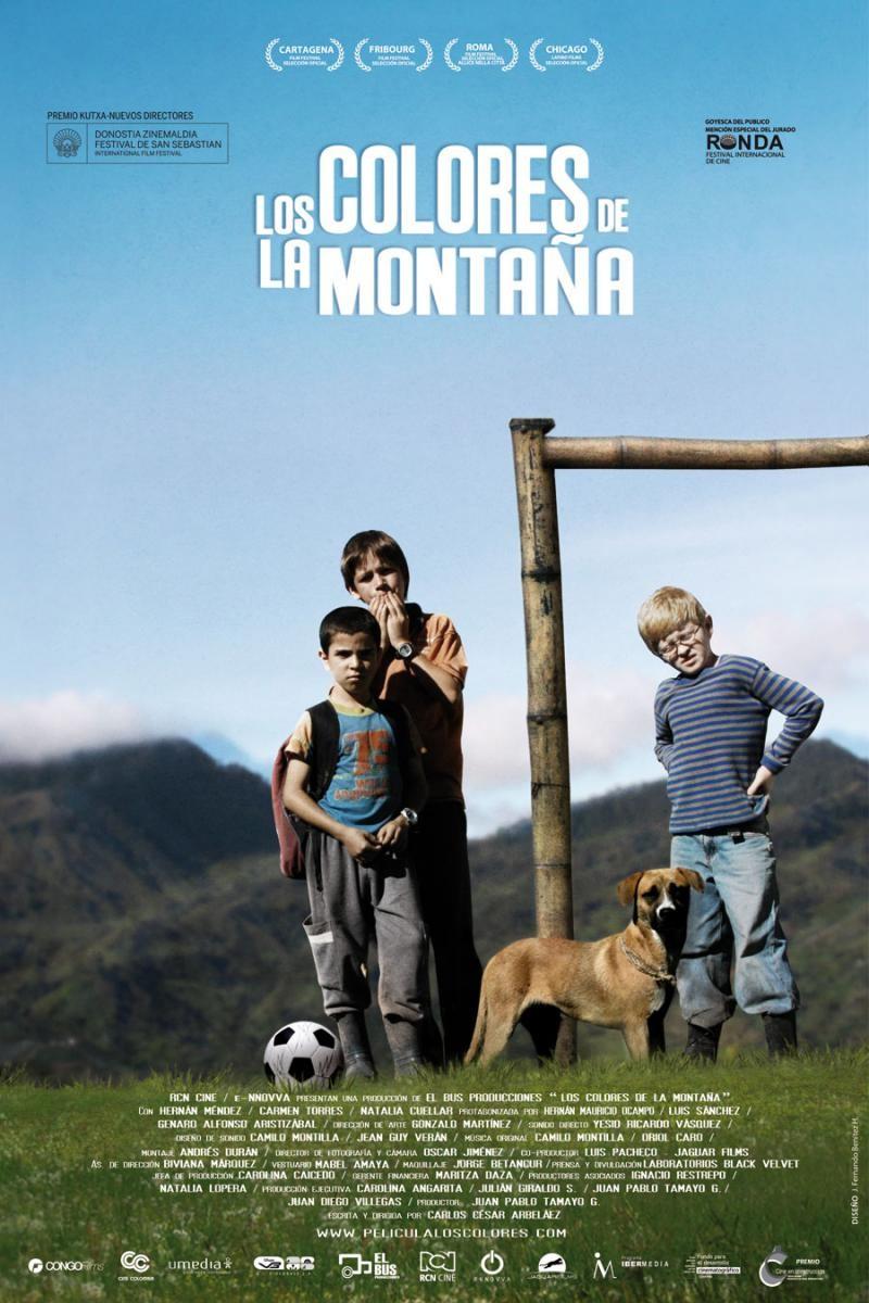 Los colores de la montaña reflejan el drama del conflicto armado