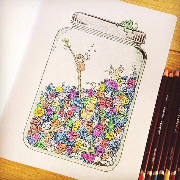libro-colorear-adultos-doodle-invasion-kerby-rosanes (9)