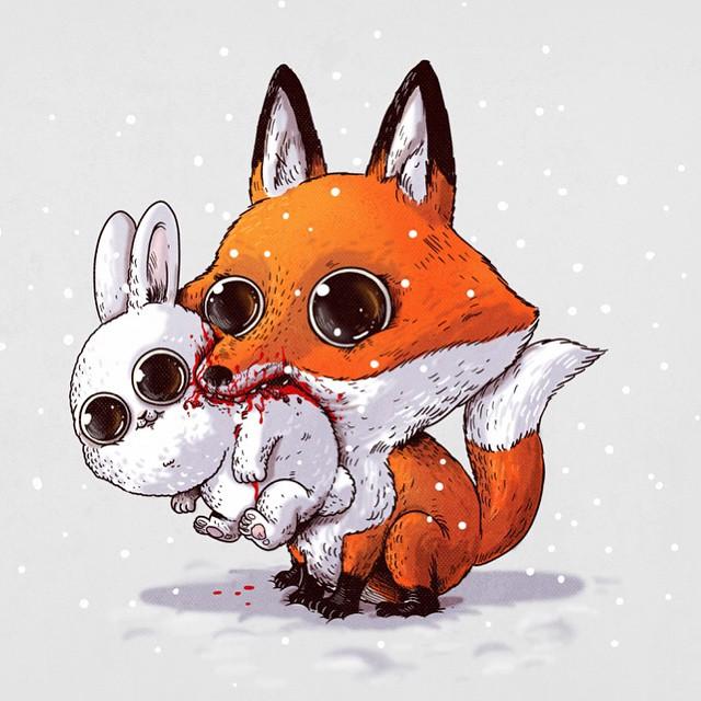 caricaturas-animales-depredadores-presas-sobrepeso-alex-solis (2)