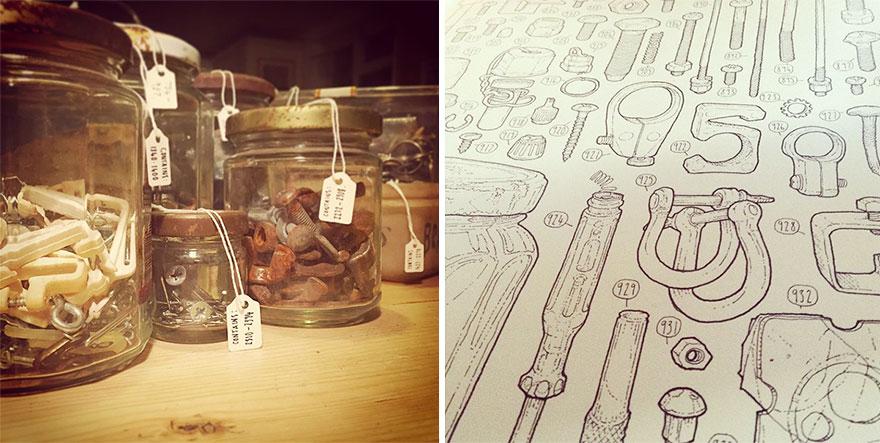 proyecto-dibujo-objetos-cobertizo-abuelo-fallecido-lee-john-phillips (10)