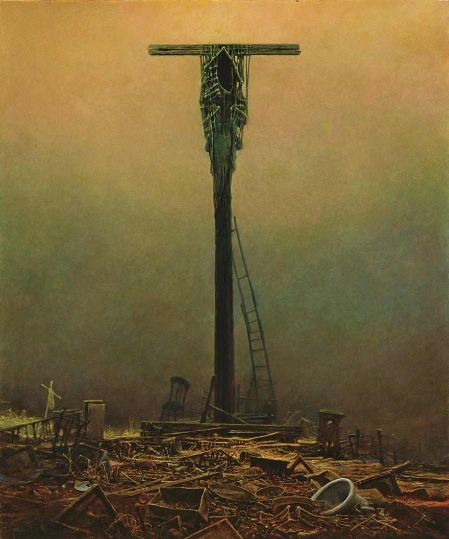 vida-obra-artista-polaco-Zdzislaw-Beksinski (6)