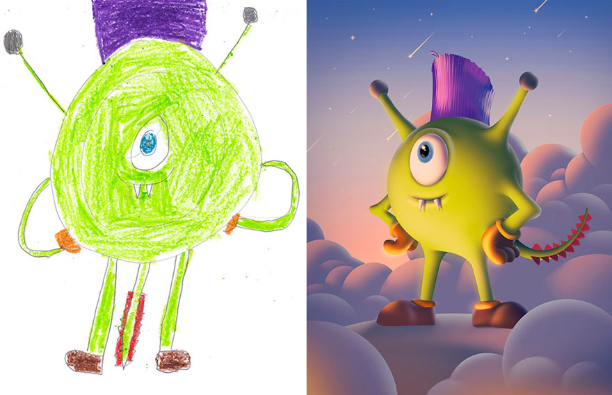dibujos-infantiles-monstruos-artistas-monster-project (18)