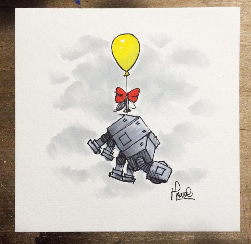 dibujos-mezcla-winnie-pooh-guerra-galaxias-james-hance (2)